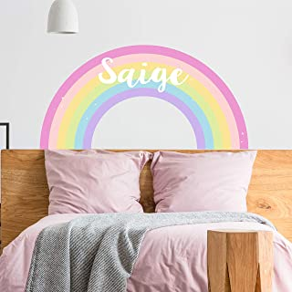 Wall Decal Sticker Bedroom  Music Melody Notes Rainbow Kids Teenager Room  bo3367