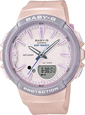 [カシオ]CASIO 腕時計 BABY-G ベビージー FOR RUNNING STEP TRACKER BGS-100SC-4AJF レディース