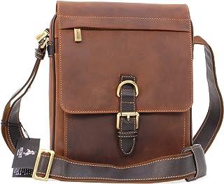 80bedcc481 Visconti Sac Gibecière de travail en cuir signé (16011) Link - Kindle/i