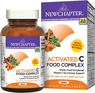 New Chapter Activated C Food Complex - 180 Tablets