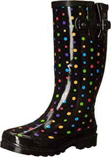 Women's Printed Tall Rain Boot