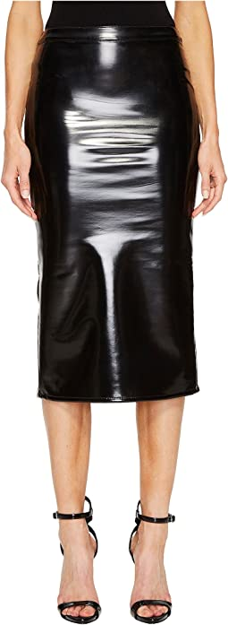 McQ Vinyl Skirt