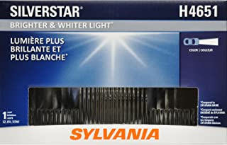 SYLVANIA - H4651 SilverStar Sealed Beam Headlight - High Performance Halogen Headlight Replacement (100x165), Brighter & Whiter Light for Added Clarity Downroad and Sideroad, (Contains 1 Bulb)