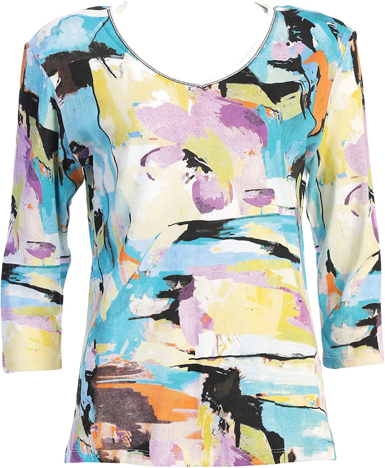 Jess Jane Women's List price Masterpiece Tee Cotton Top Shirt Clearance SALE! Limited time!