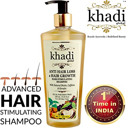 Khadi Global Anti Hair Loss and Hair Growth Stimulating Shampoo (250ml)