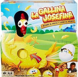 Mattel Games La Gallina Josefina, juego de mesa infantil (Mattel FRL14)