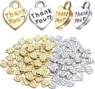 a set of 20g leatter carved heart charms-small heart charms-antique silver tone heart charms-DIY jewelry charms-heart charms with letters