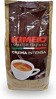 Kimbo Espresso Crema Intensa Whole Bean Coffee, 2.2 lbs