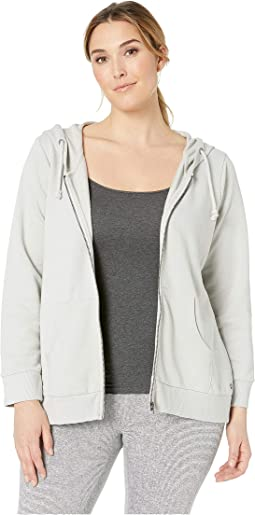 Plus Size Edie Zip-Up Hoodie