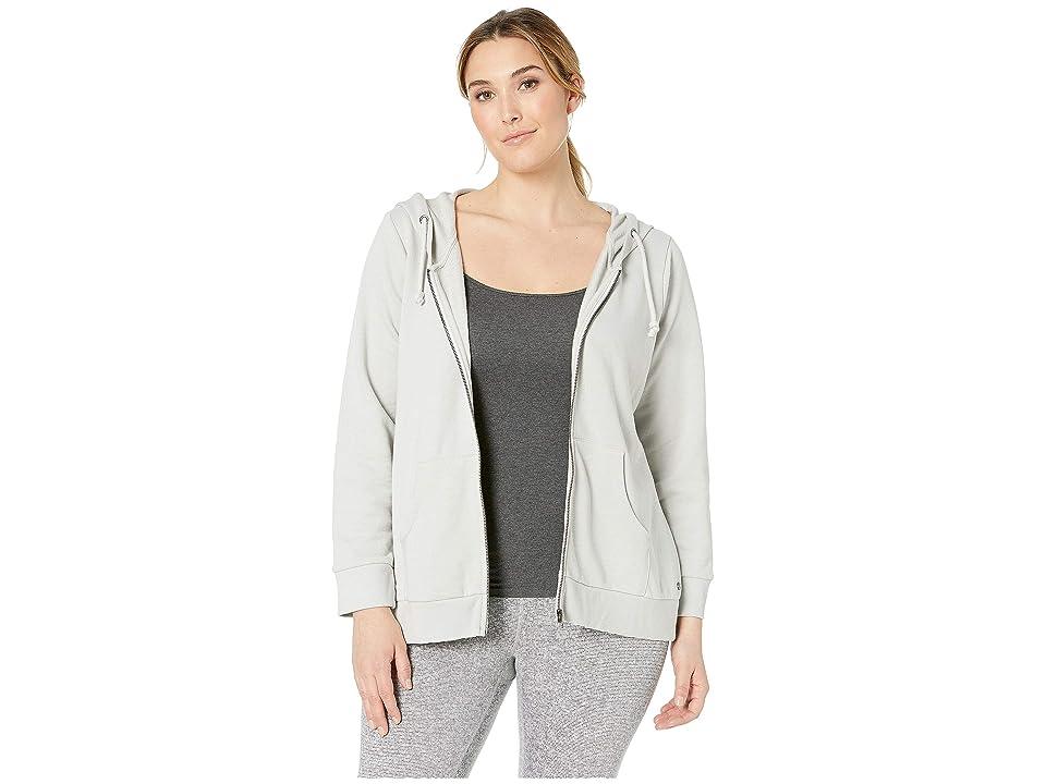 Jag Jeans Plus Size Plus Size Edie Zip-Up Hoodie (Antarctica) Women