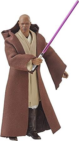 Hasbro Star Wars The Black Series 15 cm große Mace Windu Figur