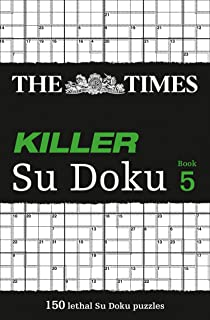 The Times Killer Su Doku 5: 150 Challenging Puzzles from the Times