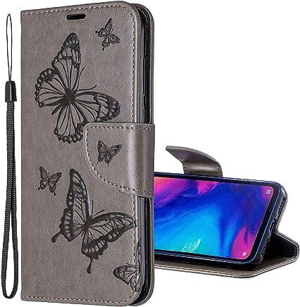 Nadoli Leder H/ülle f/ür iPhone 6S 4.7,PU Leder Magnetverschluss Standfunktion Schmetterling Muster Brieftasche Schutzh/ülle Etui im Bookstyle f/ür iPhone 6S//6 4.7