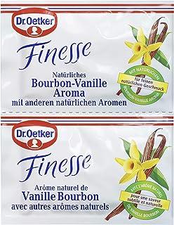 Dr. Oetker Finesse Natürliches Bourbon-Vanille Aroma 1 x 10 g