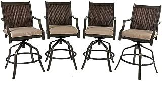 Best black wicker bar stools Reviews