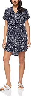 French Connection Women's Beach Floral Dress, Nocturnal/Summer WHI