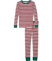 Candy Cane Long Sleeve Sleep Set (Toddler/Little Kids/Big Kids)