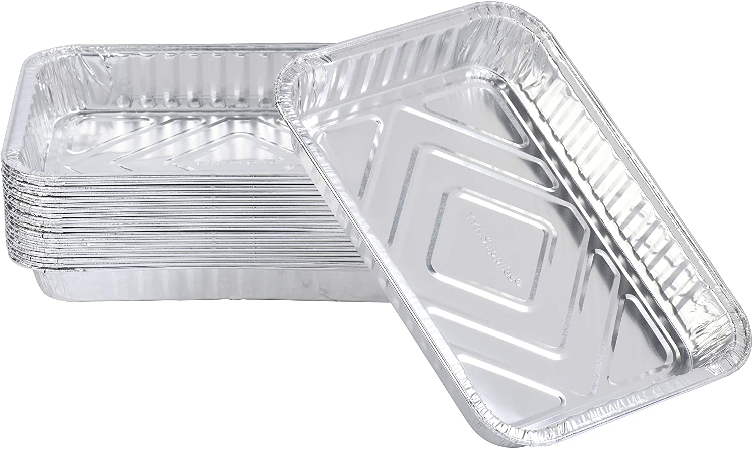 Discount is also underway TYH Supplies 20-Pack Aluminum Foil Compatib Drip Grease Great interest Pans BBQ