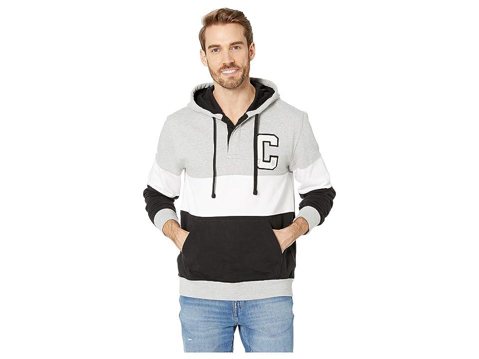 CHAPS Cotton Blend-Hoodie (Polo Black Multi) Men