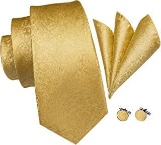 tie and handkerchief set