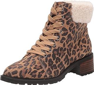Lucky Brand Women's Jacenia Bootie Combat Boot, Natural, 8