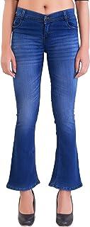 VANGULL Flared Women Blue Denim Jeans