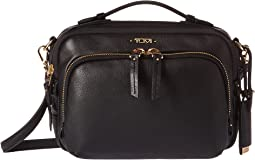 Tumi Voyageur Leather Luanda Flight Bag