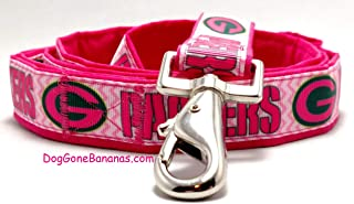 Green Bay Packers Hot Pink Dog Leash