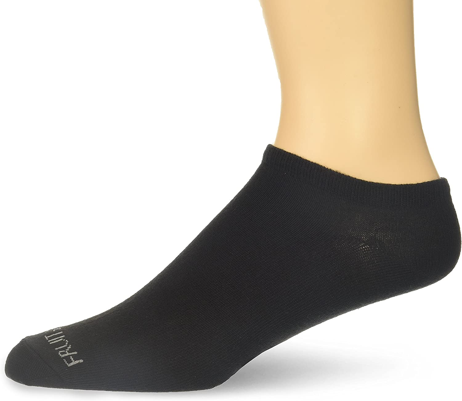 Fruit of the Loom Mens Invisible No Show Breathable Liner Socks 4 Pack