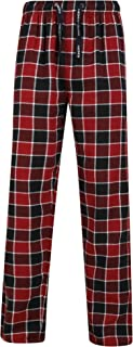 Tokyo Laundry Men's Checked 100% Cotton Thick Flannel Lounge Pants