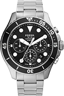 Fossil Men's FB-03 Stainless Steel Dive-Inspired Casual Quartz Watch