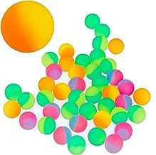 zuf/ällige Farbauswahl dehnbar Zeagro blinkende leuchtende Pufferb/älle zum Stressabbau 2 St/ück f/ür Kinder elastisch