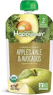 Happy Baby S2, Apple Kale Avocado, 4 oz