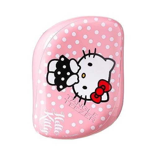 f7942b410 Tangle Teezer Hello Kitty Compact Styler Detangling Hairbrush, Pink-white