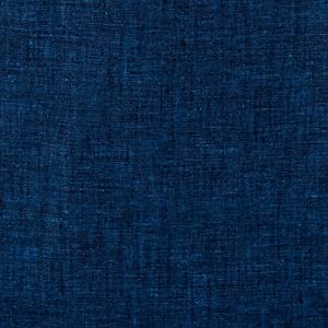 Robert Kaufman Kaufman Limerick 100% Linen Indigo Fabric by The Yard,