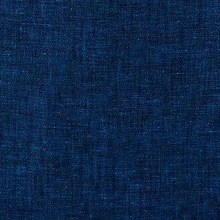 Robert Kaufman Kaufman Limerick 100% Linen Indigo Fabric by The Yard,