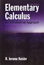 Elementary Calculus: An Infinitesimal Approach (Dover Books on Mathematics)