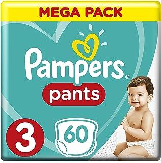 Pampers Pants, Size 3, Midi, 6-11 kg, Mega Pack, 60 Diapers