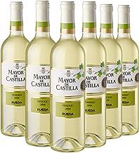 Mayor de Castilla Verdejo - Vino Blanco D.O Rueda, Pack de 6 Botellas x 750 ml