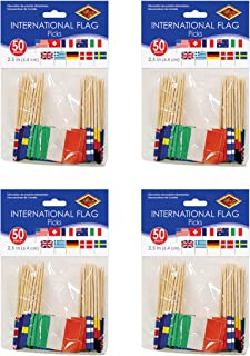 "Beistle International Flag Picks, 2.5"", Pack of 200"