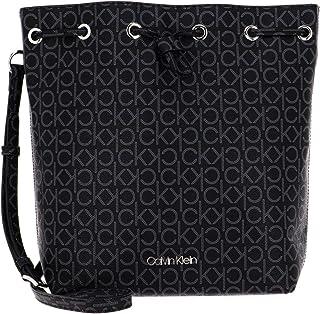 Calvin Klein Drawstring Bucket Black Mono