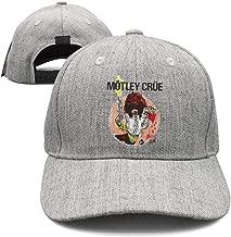 Rhdjhd Gray Unisex Adjustable Baseball Cap for Men/Women Music Casual Running hat