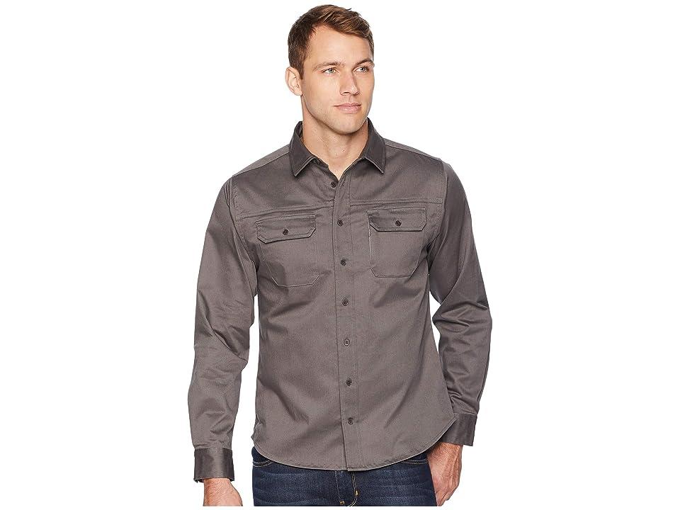 United By Blue Holt Work Shirt (Steel Grey) Men