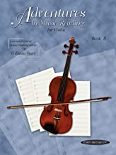 Adventures in Music Reading for Violin, Bk 2 (Comprehensive Music Reading Series, 2)