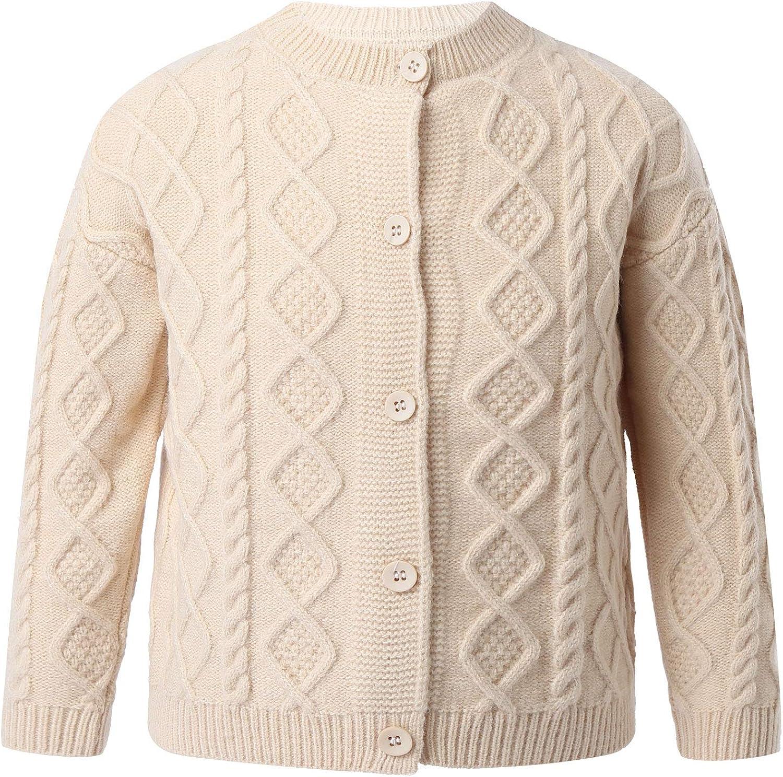 JEATHA Cheap SALE Start Baby Boys 40% OFF Cheap Sale Knit Warm Coat Button-Down Cardiga Long Sleeves