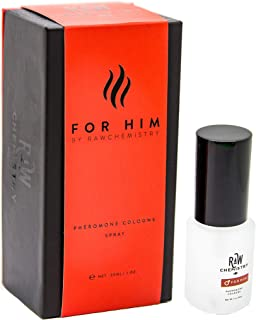 RawChemistry Pheromone Cologne, for Him [Attract Formula] - Bold, Extra Strength Formula 1 oz.