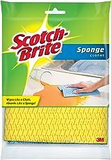 Scotch-Brite Sponge Cloth, 2 Count (Pack of 6)
