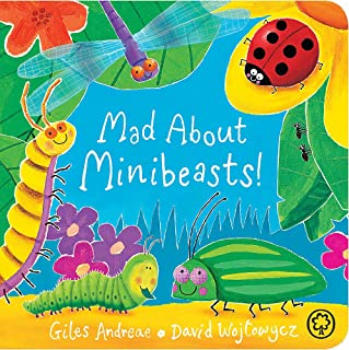 Mad About Minibeasts! Board Book