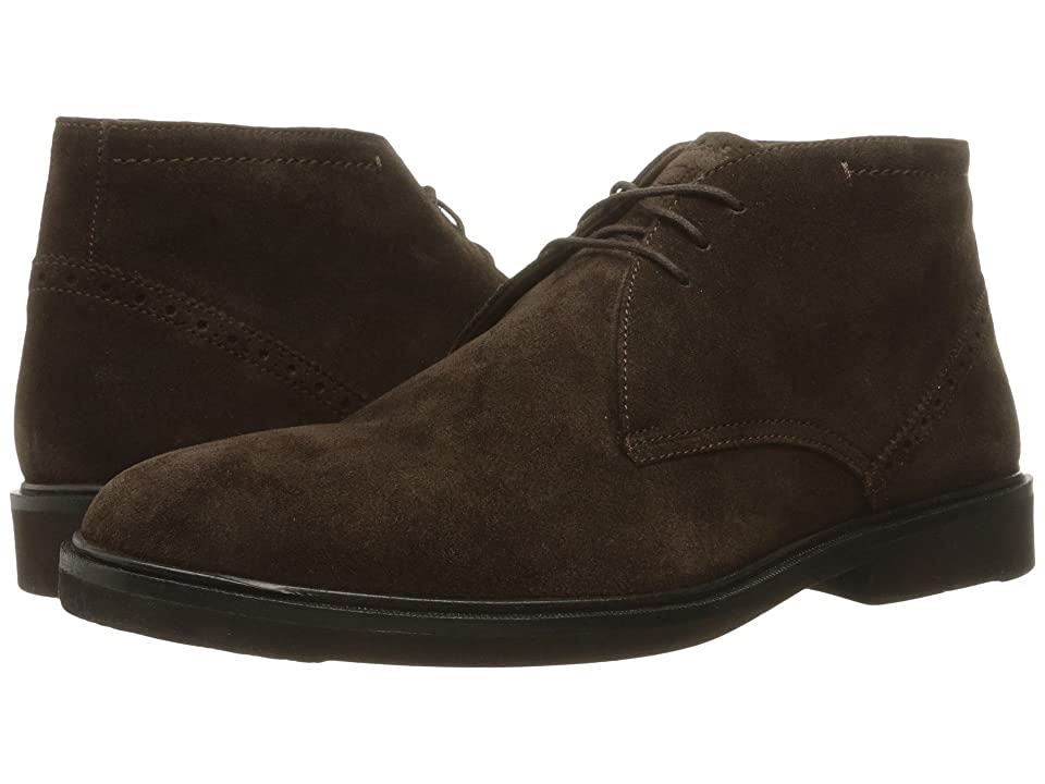 Florsheim Hamilton Chukka Boot (Brown Suede) Men's Lace-up Boots