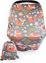 Baby Nursing & Breastfeeding Cover, Car Seat Canopy | Multi-use – Woodland Fox